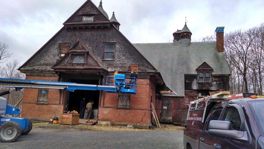 1888 Carriage House Wilderstein Historic Site Village